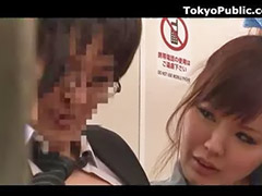 Dvě nadržený, Japonec