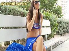 Preñd, Preña, Acheerleader, A cheerleader, Cheerleading, Cheerleades