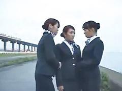 Lesby japonky, Holčičky lesbičky, Tři lesbičky, Japonské lesbičky, Japonec