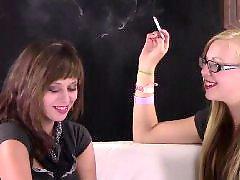 Roxi, Smoking brunette, Smoking blondes, Smoke blonde, Kyles, Kyle