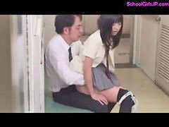 Schoolgirl, Squirt, Squirting, Teacher, Hairy