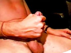 Masturbações masculino, Jato de esporra