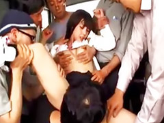 Japanes school girl, Jap school, Schoolgirl gangbanged, Japanse
