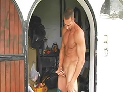 Stroking, Outdoor solo, Wank out, Wank guy, Masturbation guy, Outdoor wank