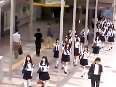 School girl, School girls, School, Japanese, Japanese bus, Japanese school