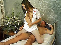 Nurse, Bad, Riding cock, Riding latina, Rides cock, Ride cock