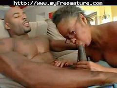 Black, Mature, Old, Milf