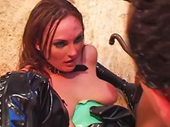 Boots, Anal in latex, Cum 3 times, Latex anal, Helps, Helping to cum