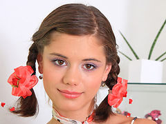 Caprice, Gta, Pigtailed, Web j, Web, Wetting her