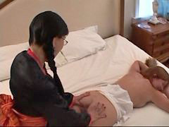 Massage, Asian, Gangbang
