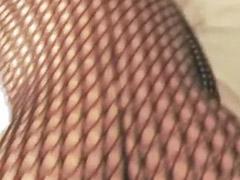 Pończochy anal, Masturbowanie, pończochy