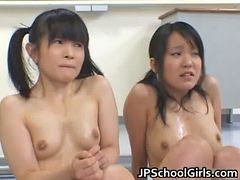 Asian, Student, Punishment, Punish