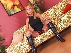 Wysokie anal, Pończochy anal, Masturbowanie, pończochy