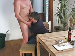 Amatur cum blowjob, Nain