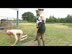 Mistress, Train, Training, Outdoor, Raine, ´train