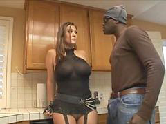 Kitchen, Lex steele, Michaels, Trina michael, Trina michaels, In kitchen