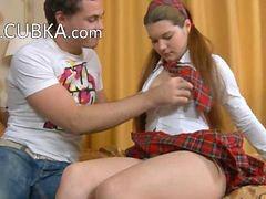 Schoolgirl, Anal