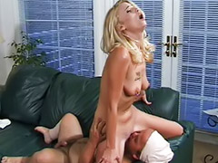 Pierced cock, Tattoo piercing, Licking cock, Tattooed blonde, Tattoo sex, Riding sex