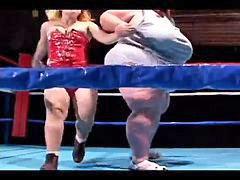 Bbw, Midget, Wrestling, Boob fuck, Midgets, Wrestling fucking