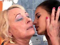 Moeder vuistneuken, Lesbische moeder