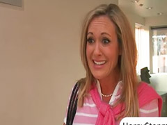 Teen, Threesome, Milf, Caught, Pervert, Brandi love