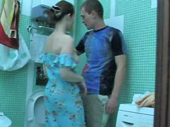 Bathroom girl, Owned, Seduces girl, Seduced girl, Seduce girl, In bathroom