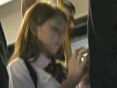 Tocamientos en el bus, La la la, Autobus colegialas, Colegialas manoseadas, Colegialas en bus, Colegialas rubias