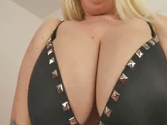 Big tits solo, Chubby blonde, Stockings dildo, Bbw toys, Chubby solo masturbation, Chubby girls
