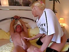 Young, Domination, Teen, Huge cock