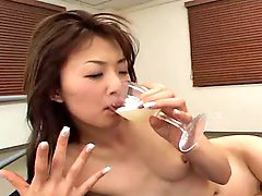 Drink, Asian glasses, Whores asian, Whore asians, Drinks, Asian whores