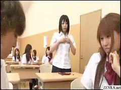 Japanes school girl, Jap school, Teenes forcee, Gedwongen