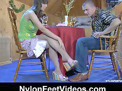 Nylon, Chola, Feet, Nylons, Nylon feet, Nylons feet