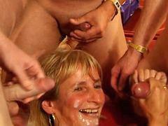 Sperma orgy