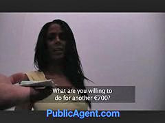 Public agent, Public babe, Needlis, Needing, Lifted, Hot black babe