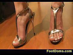 Femdom, Feet, Inc, Andrea, Femdom 男の子, Feet femdom
