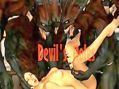 Devil, Deville, Holes, Devile, Devils, 2 n 1 hole