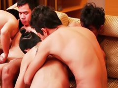 Group orgi, Gay orgi, Asia ind, Gay homosex, Hår