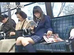 Bus, Seduce, Schoolgirl