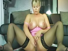 video german milf solo