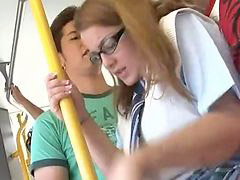 Bus, Groped, Groping, Grope, Schoolgirl bus, Schoolgirl groped
