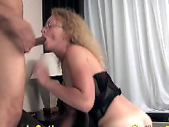 Interracial creampied, Blonde interracial creampie