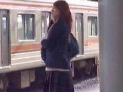 Train lesbiennes, Fut, Dans le train