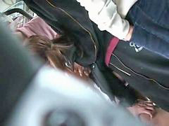 Bus, Groped, Groping, Grope, Orgasm teen, Innocent teen