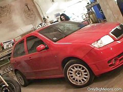 Shione, Shion, Shion cooper, Shions, In garage, Cooper shione