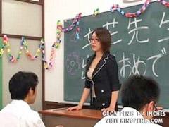 Studentki, Nauczycielka