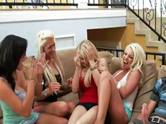 Femdom, Blow bang, Sex party, Party porn, Gangbang blonde, Femdom sex