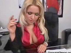 Babe big tits, Office anal, Office boss, Office big tits, Her boss, Big tits office