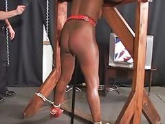 Interracial, Bondage, Heels, Moans, Interracial asia, Asian threesomes