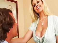 Julia ann, Julia ann,, Titfuck, Anne sex, Shaved asian milf, Titfuck blonde