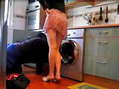 Flashing, Housewife, Plumber, Flash